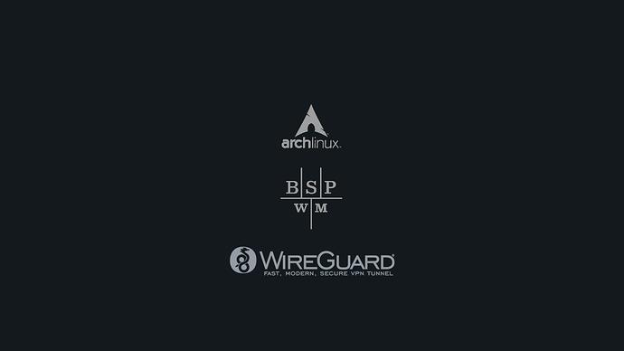 Arch-bspwm-wireguard