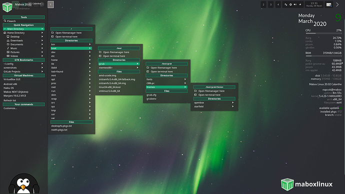 MaboxLinux20.02-places-sidepanel